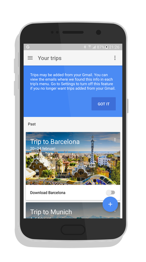 Google Trip; the new traveller app